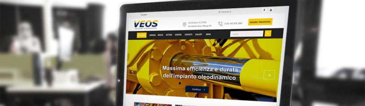Veos è online con il nuovo sito web